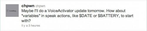 voiceac 500x108 Cydia   Une mise à jour de VoiceActivator arrive