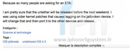 110 500x192 Jailbreak News   i0n1c : iOS 4.3 Jailbreak Untethered disponible la semaine prochaine