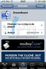 116 Cydia   DreamBoard  1.0.0 : Une nouvelle solution de thèmes enfin disponible en version finale