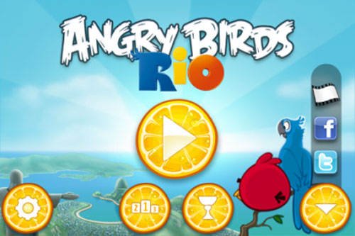 118 Jeux AppStore   Angry Birds Rio enfin disponible