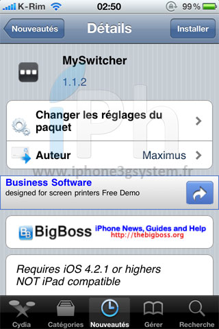 15 Cydia   MySwitcher mis à jour en version 1.1.2