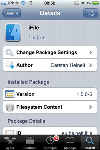 20110330 095919 Cydia – iFile passe en version 1.5.0 3