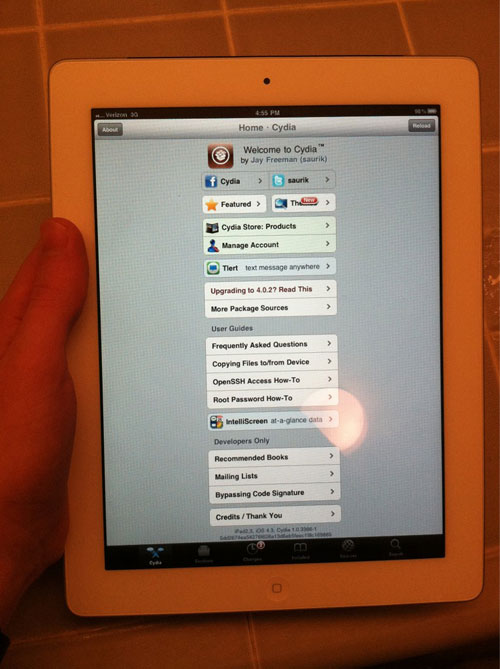 211 Jailbreak News   iPad 2 Jailbreak par Comex [VIDEO]