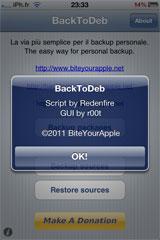 214 Cydia   BackToDeb  : Enfin disponible [Repo iPhone3GSystem]