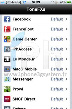 218 Cydia   ToneFXs 2.0 (Pro) : Modifiez facilement tous les sons de votre iPhone [CRACK]