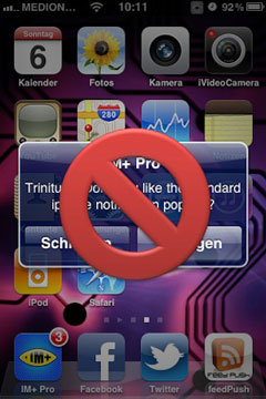 221 Cydia   alertBlocker : Bloquer les popup et badges des applications natives de liOS