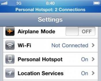 24 News   Bouygues Telecom active la fonction modem sur iPhone [GRATUIT]