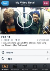 311 160x229 AppStore   Vimeo : Enfin disponible pour iPhone et iPod Touch
