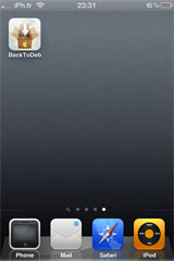 34 Cydia   BackToDeb  : Enfin disponible [Repo iPhone3GSystem]