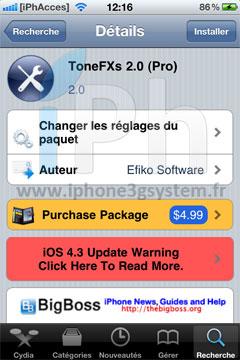 44 Cydia   ToneFXs 2.0 (Pro) : Modifiez facilement tous les sons de votre iPhone [CRACK]