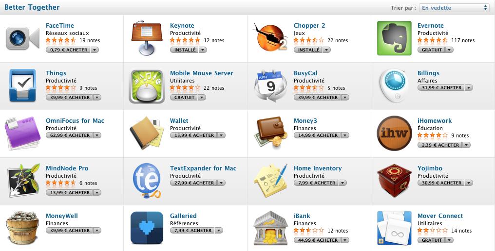 Capture d'écran 2011 03 07 à 20.48.14 News   Better Together : Nouvelle catégorie sur le Mac AppStore