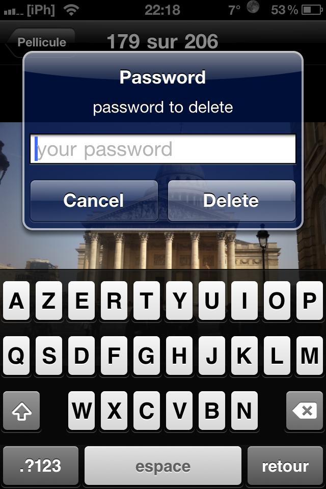 IMG 0752 Cydia   Photector : protégez vos photos contre une suppression non désirée