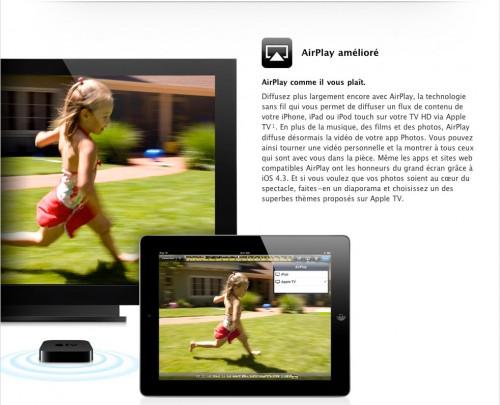 airplaysafari 500x405 News   iOS 4.3 : AirPlay fonctionnera sur Safari Mobile