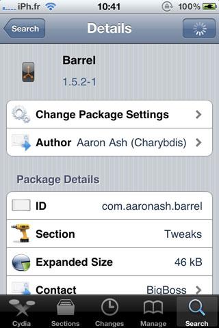 barrel2 Cydia   Barrel passe en version 1.5.2 1