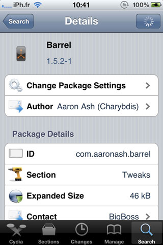barrel2 Cydia   Barrel passe en version 1.5.2 1