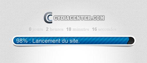 cydiacenter.com countdown Cydia News   CydiaCenter.com : Un nouveau site dédié à Cydia