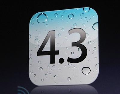 iOS4.3 News   LiOS 4.3.1 en approche ?