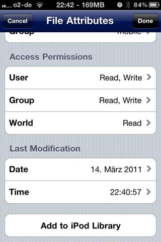 ifilegremlin Cydia   iFile permettra dimporter des sons dans votre bibliothèque iPod