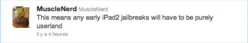 ipad2userland 500x88 Jailbreak News   Un point sur le jailbreak de liPad 2 et de liOS 4.3