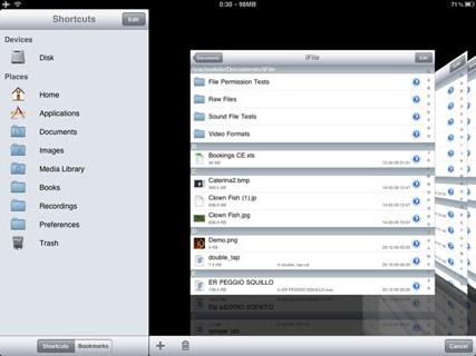 ipadifile e1300301636593 Cydia   iFile permettra dimporter des sons dans votre bibliothèque iPod
