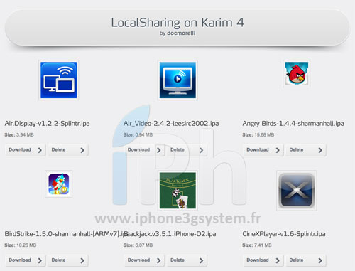 localsharing1 Cydia : Installous 4.4 disponible !