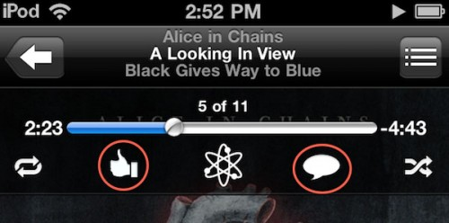 pingios4.3 500x248 News   Une nouveauté dans lapplication iPod sous iOS 4.3