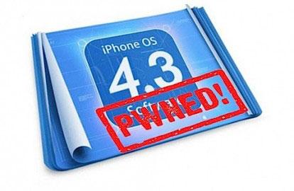 pwnios4.3final Jailbreak News   LiPhone 4 et liPhone 3GS jailbreakables via un Pwnage Tool modifié