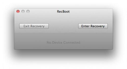 recboot22 500x273 News   RecBoot passe en version 2.2
