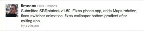 sbrotator 500x108 Cydia – SBRotator 4 v1.50 bientôt disponible
