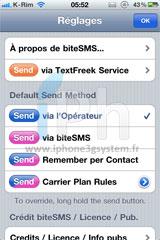 310 Cydia   biteSMS : Nouvelle mise à jour en version 5.4 bêta 1