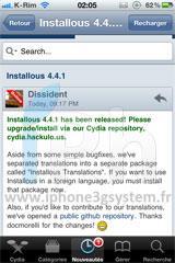 39 Cydia – Installous 4.4.1 : Mise à jour disponible
