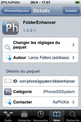IMG 0093 iPhRepo   Mise à jour de FolderEnhancer en version 1.4.3 1 [MAJ]