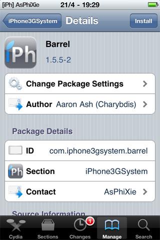 IMG 0094 iPhRepo   Mise à jour de Barrel en version 1.5.5 2 [VIDEO]
