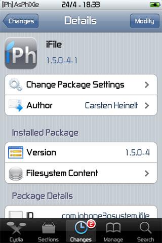 IMG 0106 iPhRepo   Mise à jour de iFile en version 1.5.0 4 1