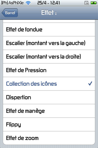 IMG 0110 iPhRepo   Mise à jour de Barrel FR en version 1.5.5 2