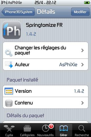 IMG 0120 iPhRepo   Mise à jour de Springtomize FR en version 1.4 2