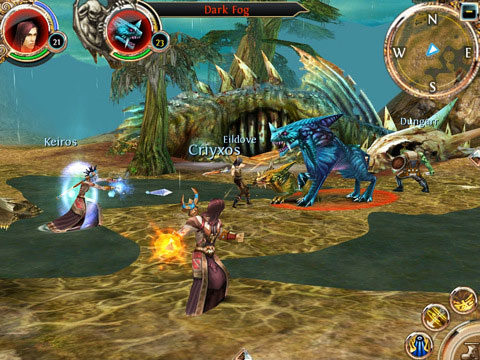 OrderOnline News   Gameloft publie son MMORG : Order & Chaos Online