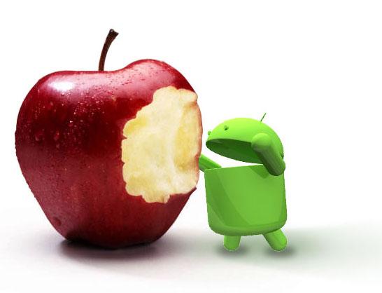 android apple News   LiOS toujours en tête devant Android