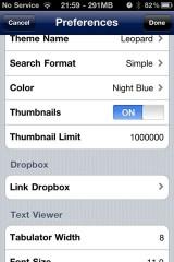 dropboxifile11 160x240 Cydia   Le support de DropBox sera totalement géré sur iFile