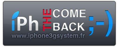 iPhComeBack News   iPhone3GSystem est de retour sur la toile