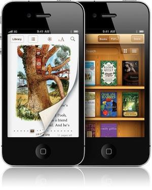 ibooks iphone AppStore   iBooks se met à jour en version 1.2.2
