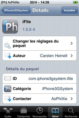 ifile iPhRepo   Mise à jour de iFile en version 1.5.0 4 [MAJ]