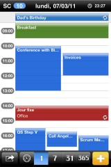 iphone3gsystem mical 2 160x240 AppStore   miCal se met à jour en version 3.0