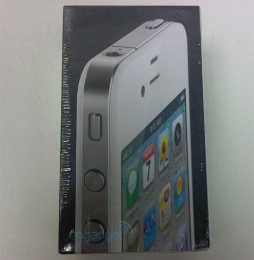 iphone4blanc1 500x512 News   LiPhone 4 blanc prévu pour le 27 Avril ? Déjà des photos !