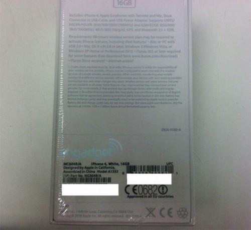 iphone4blanc3 500x459 News   LiPhone 4 blanc prévu pour le 27 Avril ? Déjà des photos !
