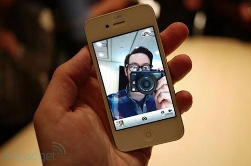 iphone4blanc4 500x331 News   LiPhone 4 blanc prévu pour le 27 Avril ? Déjà des photos !