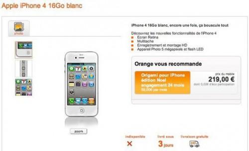 iphone4blanc5 500x303 News   LiPhone 4 blanc annoncé pour Mercredi chez Orange