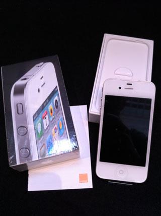 iphone4blanc6 News   LiPhone 4 blanc est disponible, mais pas à la vente