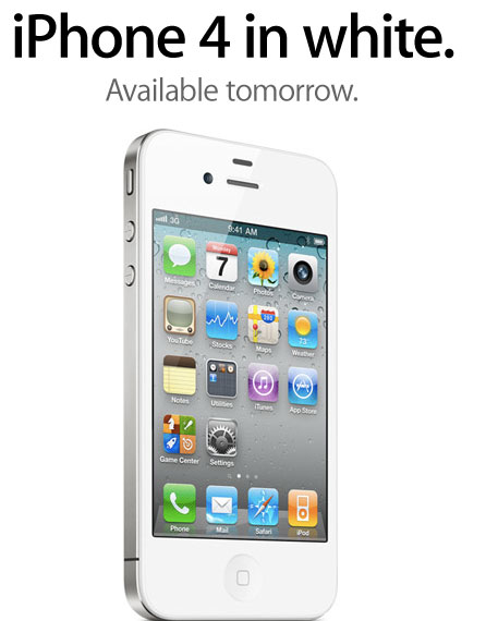 iphone4blanc7 News   LiPhone 4 blanc est officiellement disponible