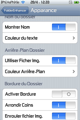 screen2 241 iPhRepo   Mise à jour de FolderEnhancer FR en version 1.4.3 1